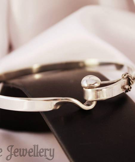 Sterling Silver Bangle