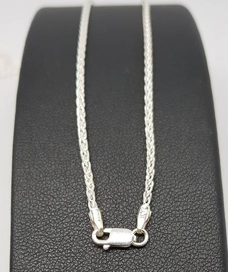 Sterling silver chain, 80cms