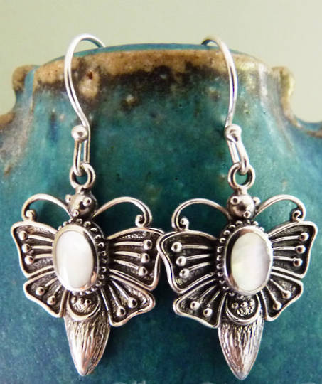 Butterfly earrings - on sale now