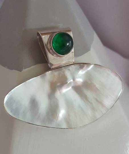 Mother of pearl pendant *less than half price*