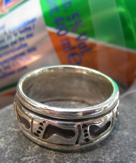 Sterling silver ring for the man in your life