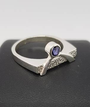 Sterling silver designer ring - made in NZ