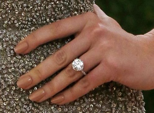 Kate Upton engagement ring