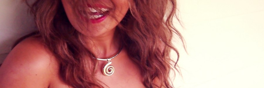koru pendant made in NZ