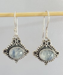 Moonstone earrings SilverStone