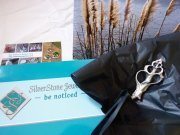 silver shell packaging SilverStone Jewellery 1
