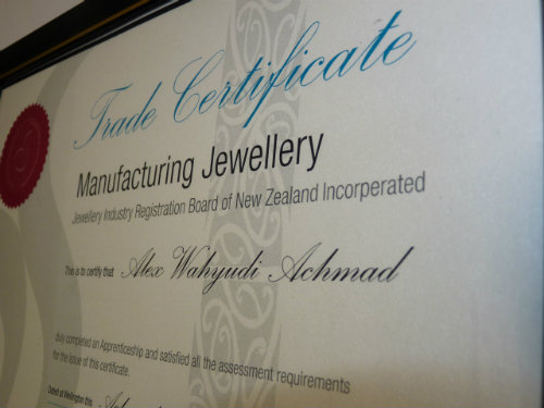 Alex Achmad Manufacturing jeweller