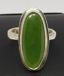 green-silver-rings