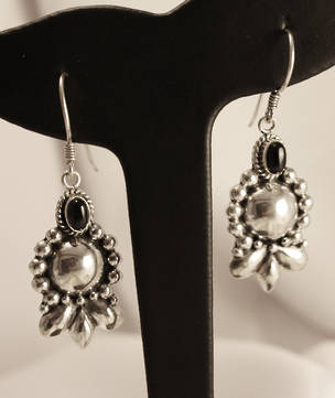 Onyx Earrings - long length